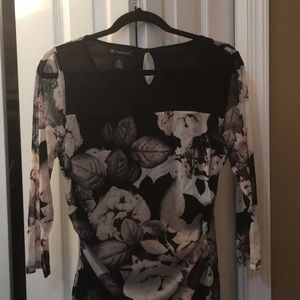 INC International Concepts beautiful blouse size L